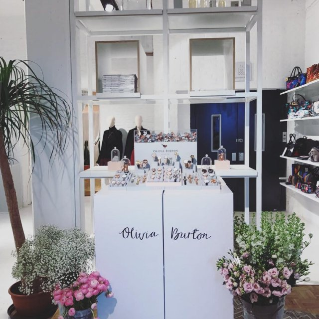 Olivia Burtons exclusive range preview and high tea event athellip