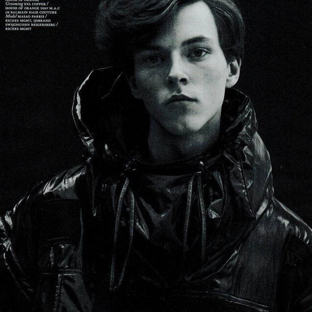 Napapijri by Martine Rose in Vogue MAN