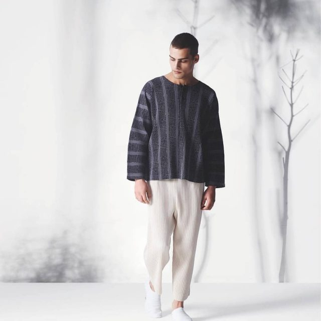 Homme Pliss ISSEY MIYAKE SS18 available at the store inhellip